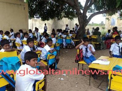 Paramilitary compromises activities of Zonal Education office in Kalkudaa
