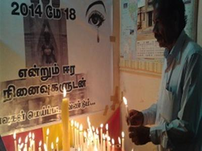 Tamil nation remembers Mullivaikal massacre 5 years on, amidst military ban