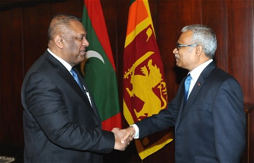 srilanka-maldeives-foreign-ministers