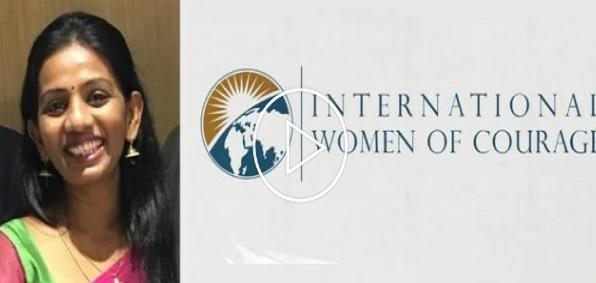 அமெரிக்க இராஜாங்க செயலாளரினால் வழங்கப்படும் IWOC விருதுக்கு,  ரனிதா ஞானராஜா தெரிவானார்!